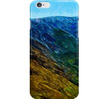 Waimea Canyon 13 Abstract Impressionism iPhone Case/Skin