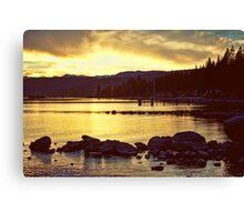 North Shore Lake Tahoe Canvas Print
