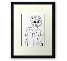 I'm Bad Framed Print