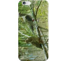 Two Morning Doves Abstract Impressionism iPhone Case/Skin