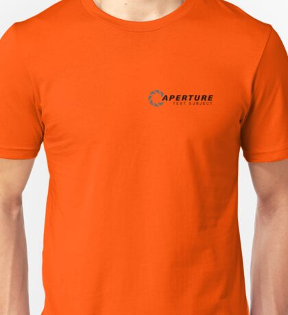 Aperture Laboratories Test Subject Unisex T-Shirt
