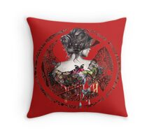 The Hunger Games. Throw Pillow