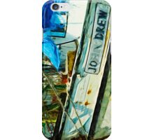 The Shrimp Boat John Drew Abstract Impressionism iPhone Case/Skin