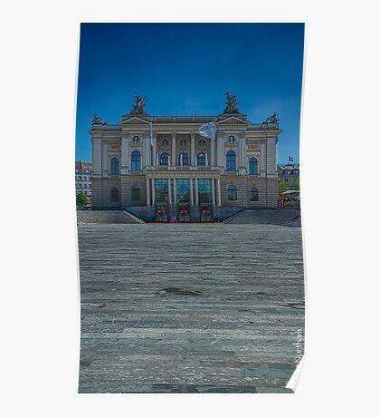 Zurich Opera House Poster