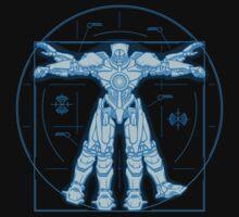 Vitruvian Jaeger by DoodleDojo