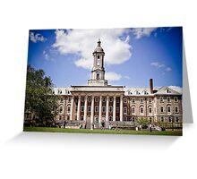 Old Main, Pennsylvania State University Greeting Card