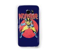 Wolverine Retro Comic Samsung Galaxy Case/Skin