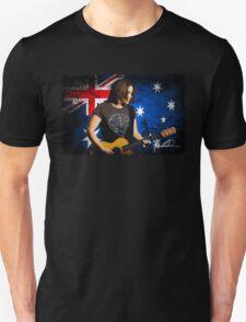 Marie Wilson Australian Flag Unisex T-Shirt