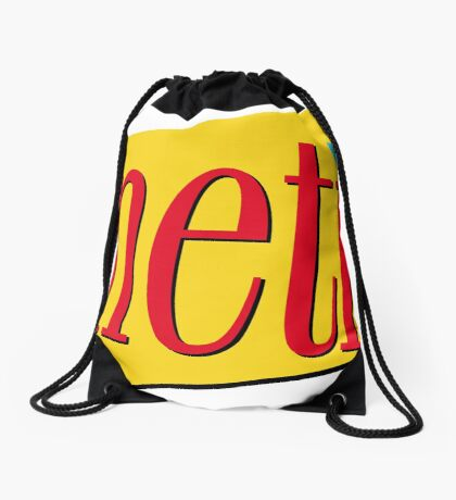 Nineties: Seinfeld Style Drawstring Bag