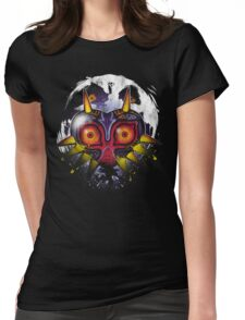 Power Behind The Mask Womens Fitted T-Shirt