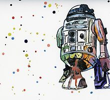 R2-D2 by Paxelart