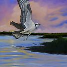 Osprey At Pearl River Island by Phyllis Beiser