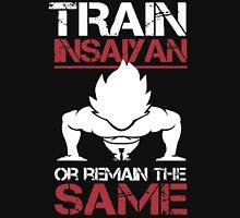 DragonBall Z Goku Train Insaiyan Or Remain The Same Train Insaiyan It's Over 9000 Goku's Gym Anime Cosplay Gym T Shirt T-Shirt