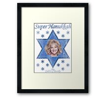 Super Hanukkah Framed Print