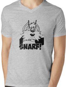 Snarf Mens V-Neck T-Shirt