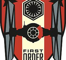 First Order Fighter Squadron Emblem by Vysoft