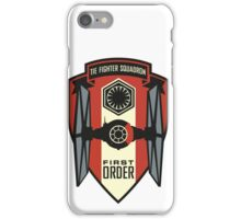 First Order Fighter Squadron Emblem iPhone Case/Skin