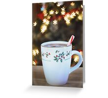 """Snowflakes and Cocoa"" Christmas cards Greeting Card"