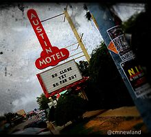 The Austin Motel. by Christopher  Newland