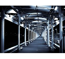 Albury Train station Photographic Print