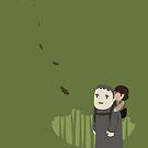 Hodor and Bran by murphypop