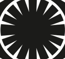 First Order: Crush The Resistance Emblem Sticker
