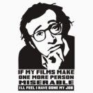 Woody Allen by rudeboyskunk