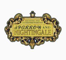 Sparrow & Nightingale - STICKER by MeganLara