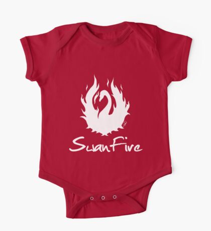OUAT - SwanFire (white) One Piece - Short Sleeve