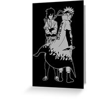 Uzumaki Naruto Greeting Card