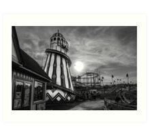 Clacton Pier Art Print