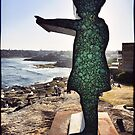 "Sculpture by the Sea 2013 - Matt Calvert ""Girl Pointing"" by andreisky"