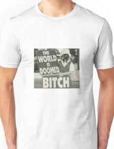 The World Is MF DOOMED Unisex T-Shirt