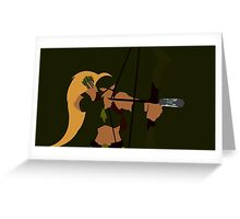 Artemis Minimalism Greeting Card