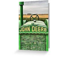 John Deere  Greeting Card