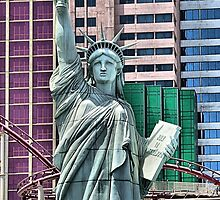 Lady Liberty  by Steve St.Amand
