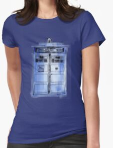 Tardis! Womens Fitted T-Shirt