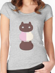 Cookie Cat - Steven Universe Women's Fitted Scoop T-Shirt