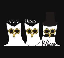 Hoo Hoo Whom Kids Clothes