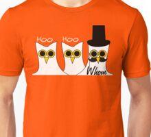 Hoo Hoo Whom Unisex T-Shirt