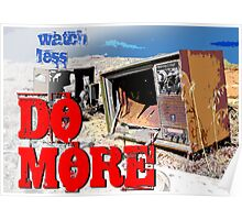 Watch Less Do More! Poster