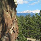 Rock Face facing Peak by Christine Ford
