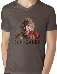 Tom Baker! Mens V-Neck T-Shirt