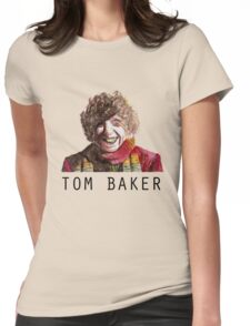 Tom Baker! Womens Fitted T-Shirt