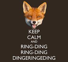 The Fox Keeps Calm Unisex T-Shirt