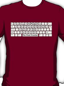 Klingon Keyboard T-Shirt