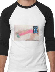 Doctor Who! Men's Baseball ¾ T-Shirt