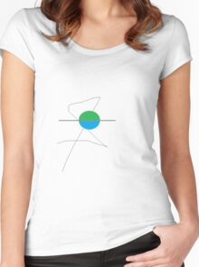New Earth Women's Fitted Scoop T-Shirt