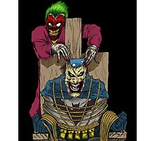 The Joker vs Batman Photographic Print