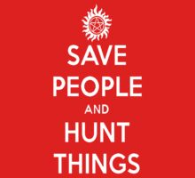 Saving People, Hunting Things Kids Clothes